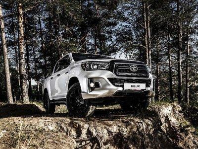 В России стартовали продажи новой версии Toyota Hilux