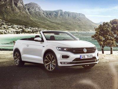Немцы представляют новый кроссовер-кабриолет Volkswagen T-Roc