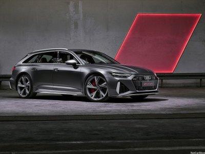 Audi представил новый RS 6 Avant с 600-сильным двигателем