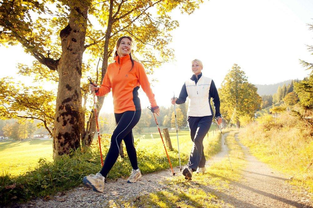 занятия спортом осенью