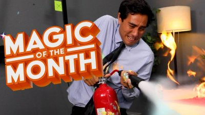 A Giant Disaster | MAGIC OF THE MONTH | Zach King (August 2019) видео