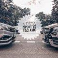 Понты дороже денег: сравнительный тест LADA Vesta Sport и Mercedes-AMG E53