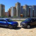 Турист и бродяга: сравнительный тест-драйв Volkswagen Tiguan и Jeep Compass