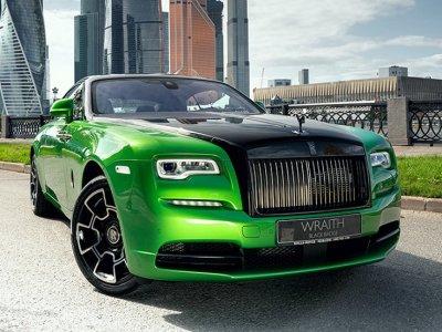 Rolls-Royce представил спецверсию Wraith специально для Москвы