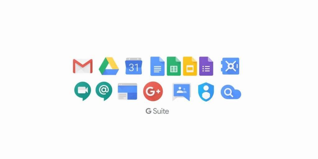 Список продуктов Google