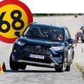 Новый Toyota RAV4 провалил испытания на управляемость