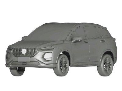 В России запатентовали китайского двойника Hyundai Santa Fe