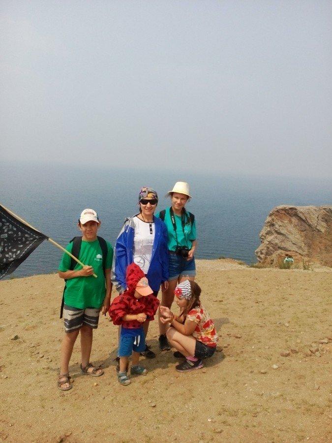 Байкал отдых летом с детьми