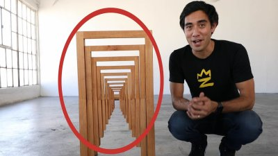 Furniture Optical Illusions - Zach King Magic видео