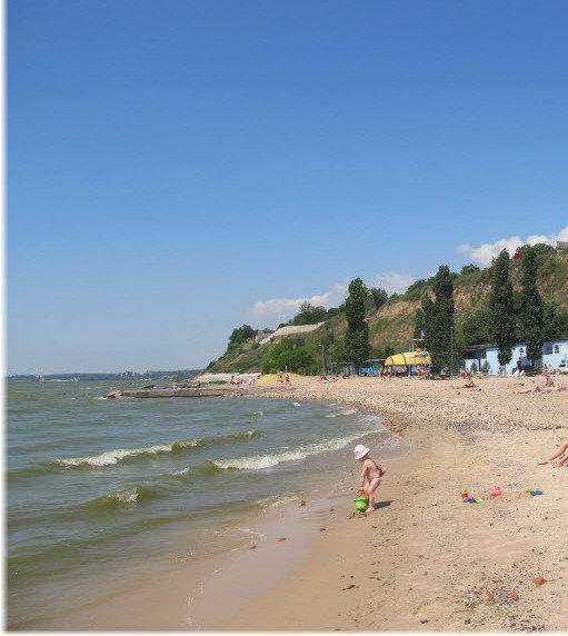 Пляжи Таганрогского залива
