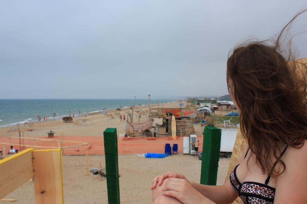 Девушка и горизонт