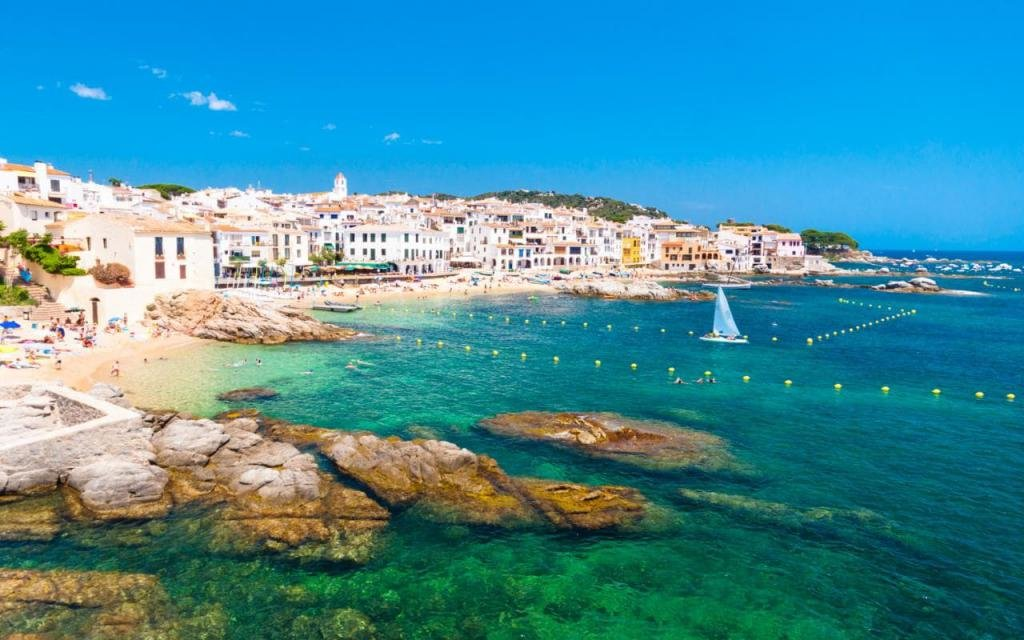 Побережье солнечной Каталонии