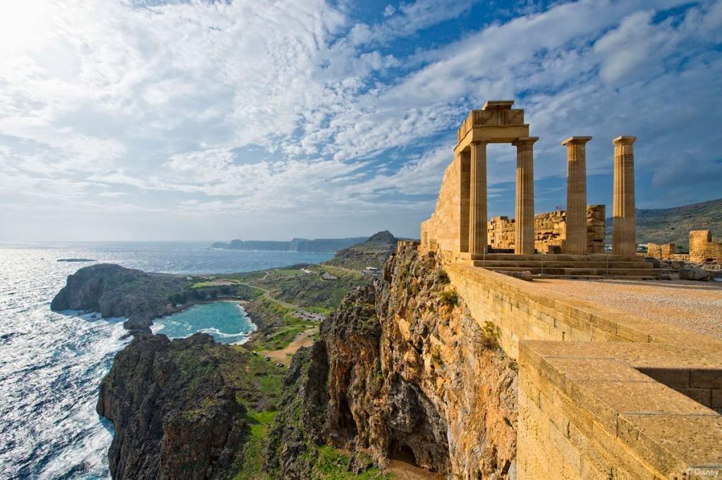 Остров Родос в Греции