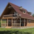Цена на деревянные дома из бруса