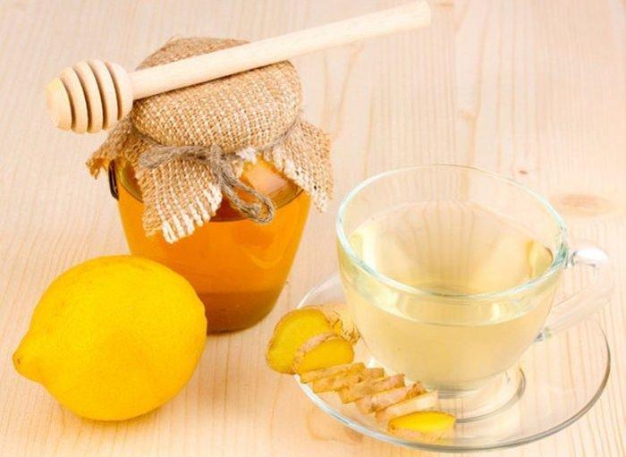 Мед, имбирь и лимон при гриппе