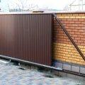 Об откатных сдвижных воротных конструкциях в Ростове-на-Дону