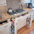 Организация пространства в маленькой кухне
