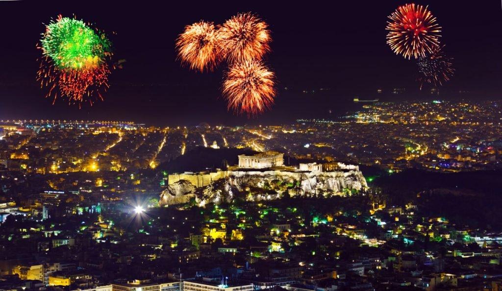 красивый новый год в европе