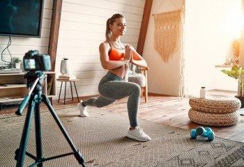 Фитнес дома: как быть стройной без спортзала