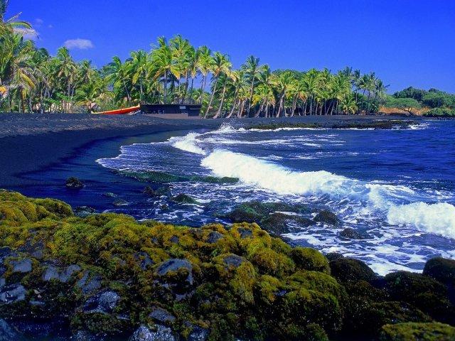 Черные пляжи Тенерифе