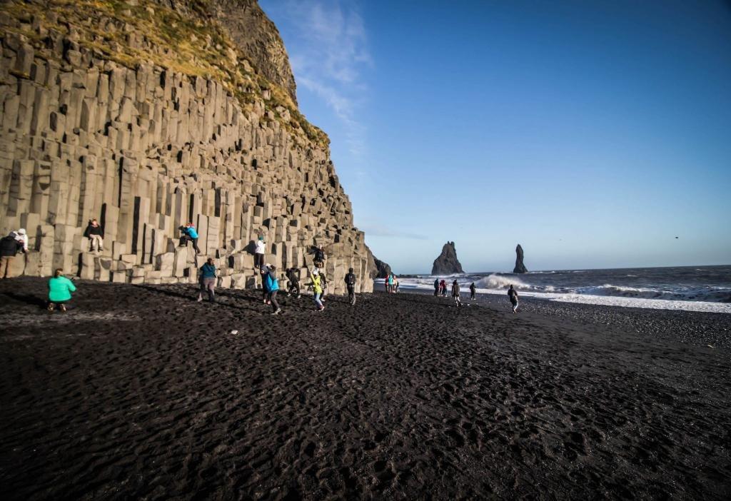 Пляж Исландии