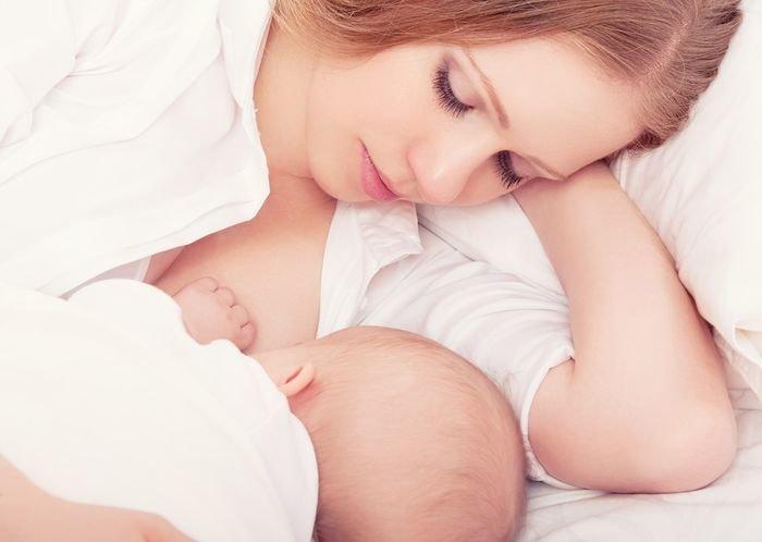 Удобные позы для кормления ребёнка