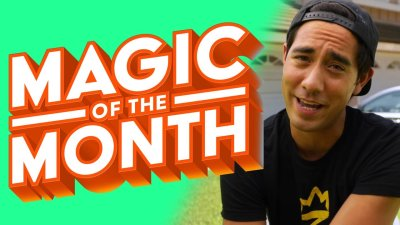 Zach King Reacts to Your Vine Magic | MAGIC OF THE MONTH - July 2020 видео
