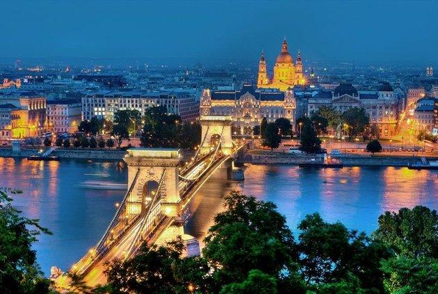 Столица Венгрии - Будапешт