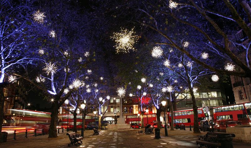 Лондон в декабре