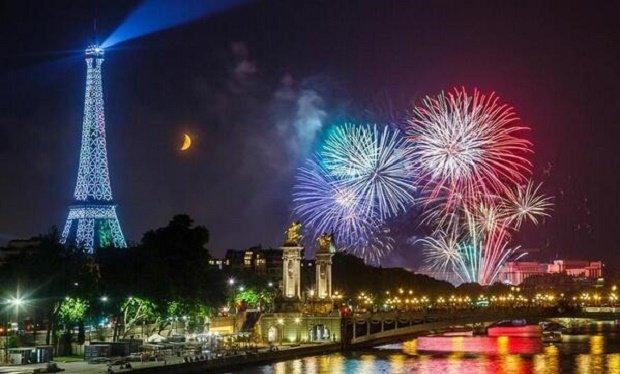 Новый год во Франции