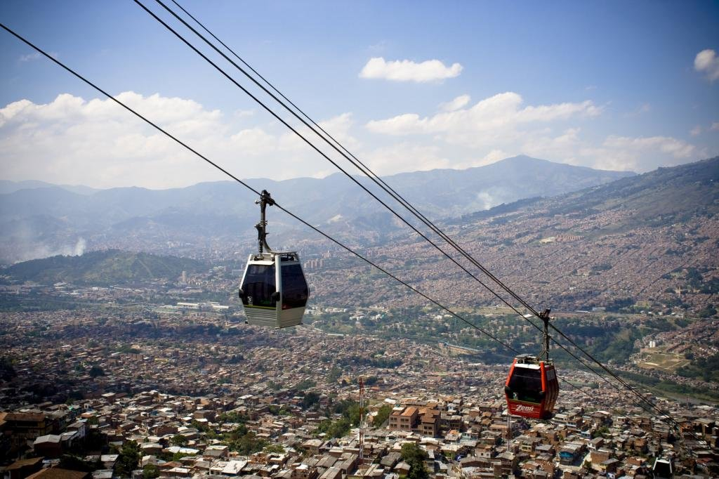канатная дорога в Кито