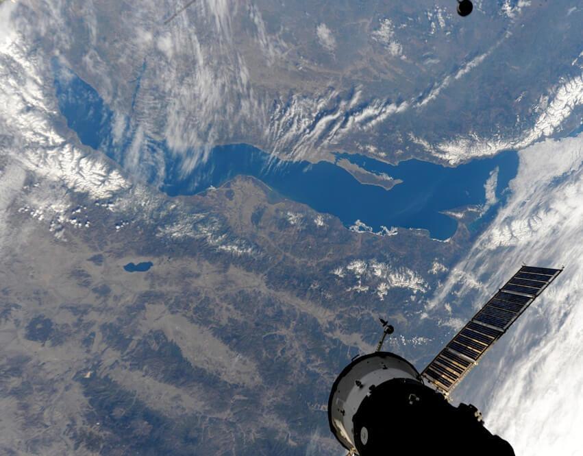 Байкал, вид из космоса