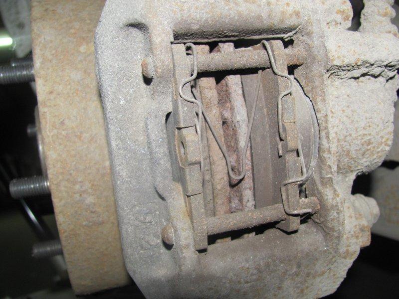 Задние колодки для дисковых тормозов