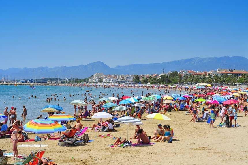 Пляжи на юге Испании