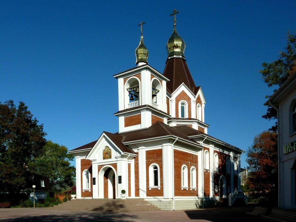 Храм в Дивноморском
