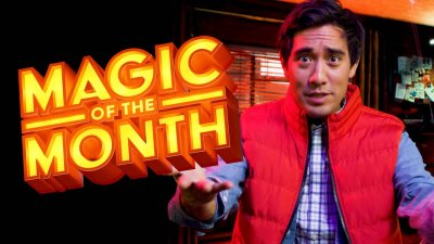 Zach King Reacts to Halloween Trick | MAGIC OF THE MONTH - October 2020 видео