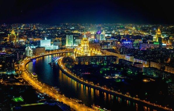 Очарование ночной столицы