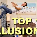 My Top 10 Illusions from 2020 - Best of Zach King Compilation видео