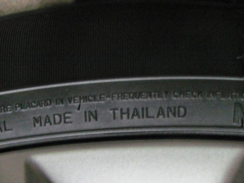 Обозначение страны производителя шины