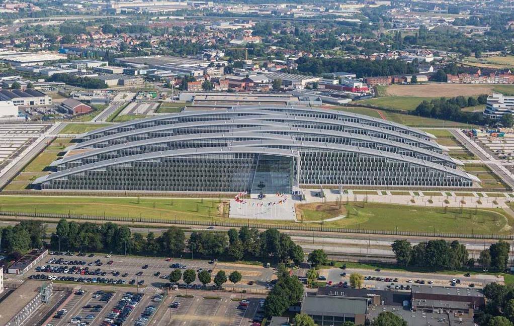 Центр НАТО в Брюсселе