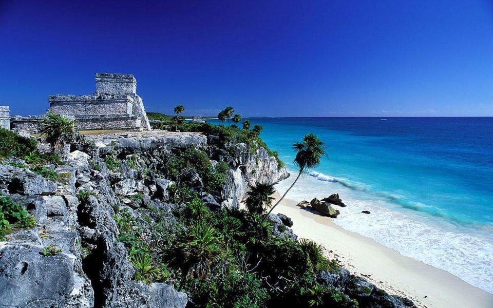 города Мексики курортные