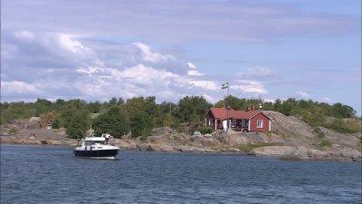 Шхеры - это живописные островки нетронутой природы