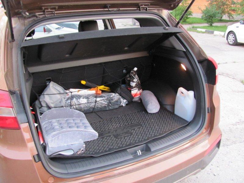 Что запрещается перевозить в багажнике?