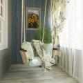Ламинат на балконе