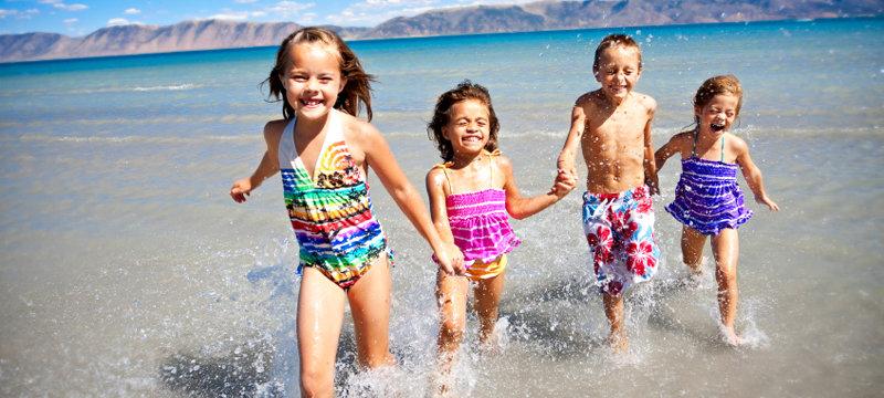поездка с детьми на отдых