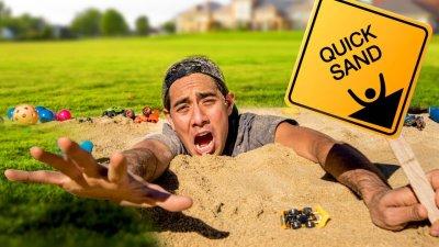 Sinking in Quicksand - Magic Makers Episode 1 видео