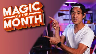 Recreating a Zach King Video | MAGIC OF THE MONTH - May 2021 видео