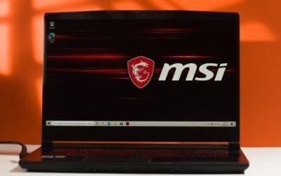 Обзор MSI GF65 Thin: ноутбук с RTX 3060 по цене видеокарты