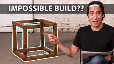 Furniture Optical Illusions 2 - Zach King Magic видео