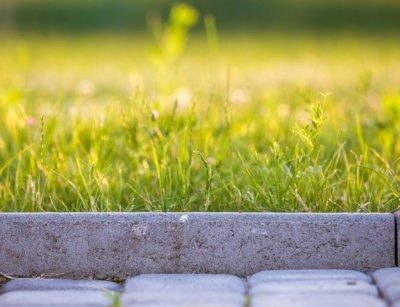 Как сделать бордюр садовой дорожки своими руками